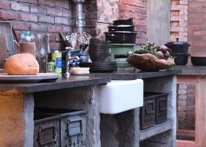 Industriele leeftuin Eigen huis & tuin ~ Hal 72, industriele meubels 4