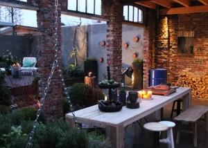 Industriele leeftuin Eigen huis & tuin ~ Hal 72, industriele meubels 7